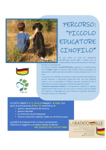 percorso piccolo educatore cinofilo Locandina1